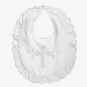 Girls Christening Bib